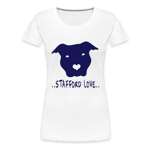 Womens 'Stafford Love' T-Shirt - Women's Premium T-Shirt