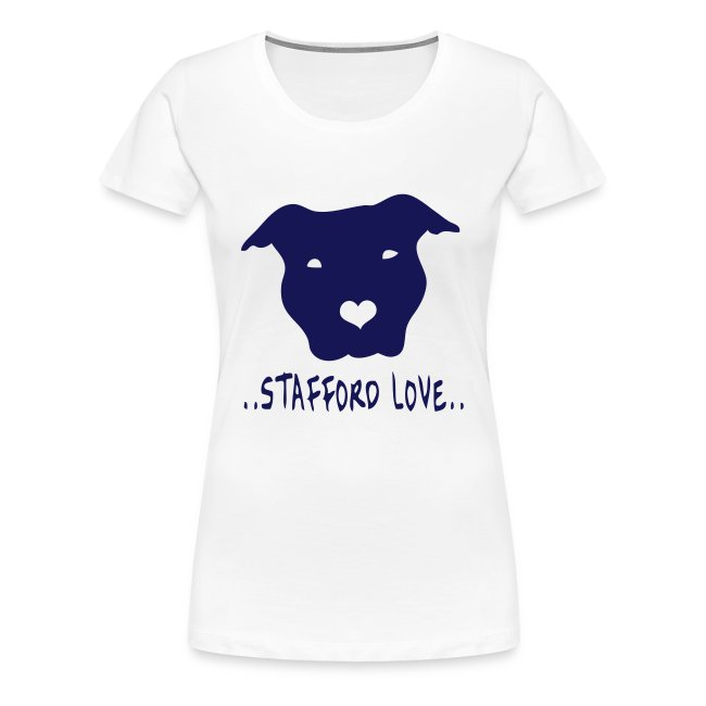 Womens 'Stafford Love' T-Shirt