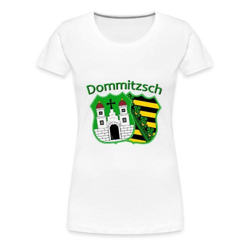 Damen T-Shirt Wappen mit Schriftzug - Frauen Premium T-Shirt
