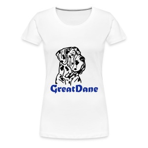 Womens Great Dane T-Shirt - Women's Premium T-Shirt