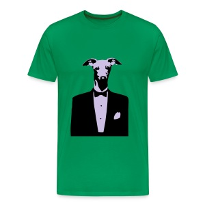 Mens/Unisex Doggy Tuxedo T-Shirt - Men's Premium T-Shirt