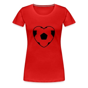 love football - Women's Premium T-Shirt