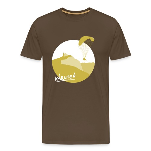 Carinthian paraglider - Männer Premium T-Shirt