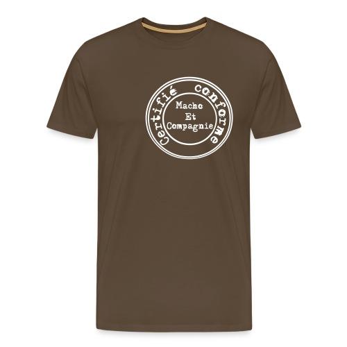 Certifié conforme décalé - T-shirt Premium Homme