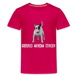 Girl- Cute Bully - Teenage Premium T-Shirt