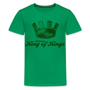 Larsson - King of Kings - Teenage Premium T-Shirt