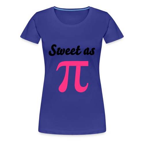 Sweet as Pi Tee - Women's Premium T-Shirt