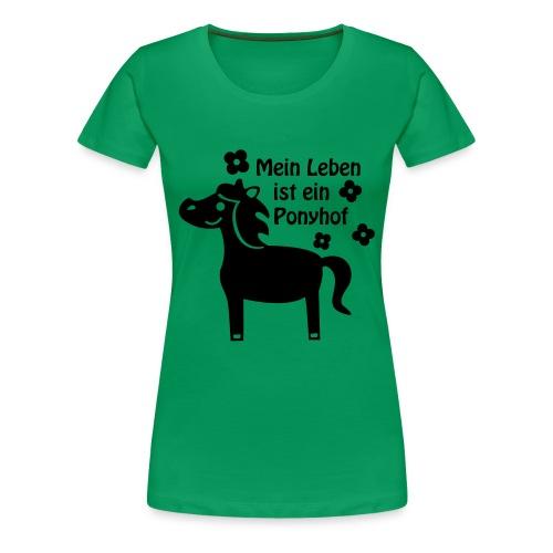 Ponyhof - Frauen Premium T-Shirt