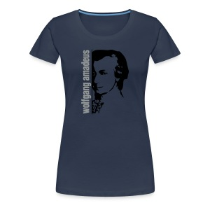 Mozart Wall Girl Jeans Lmt. Edition - Women's Premium T-Shirt