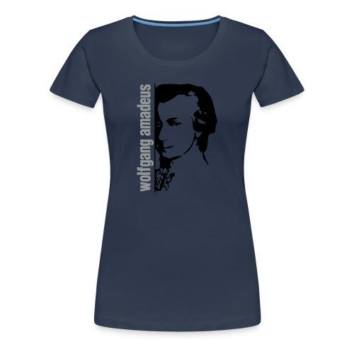 Mozart Wall Girl Jeans Lmt. Edition - Women's Premium T-Shirt