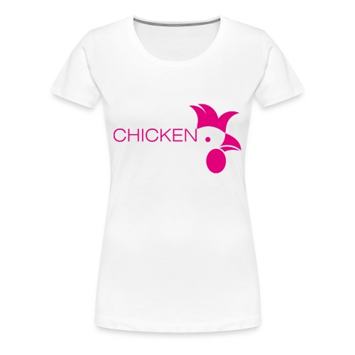 Chicken or Pasta - Frauen Premium T-Shirt
