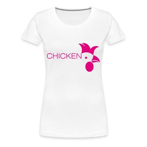 Chicken or Pasta - Frauen Premium T-Shirt