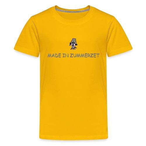 made in zummerzet classic t-shirt - Teenage Premium T-Shirt