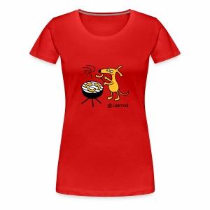 Grillgo - Frauen Premium T-Shirt