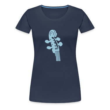 Bleu jean cou violoncelle / Cello neck (B, 1c) T-shirts