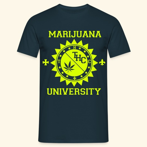 Marijuana university  - T-shirt Homme