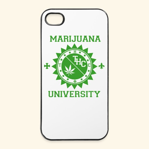 Marijuana university  - Coque rigide iPhone 4/4s