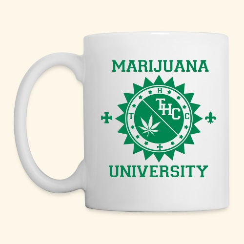 Marijuana university  - Mug blanc