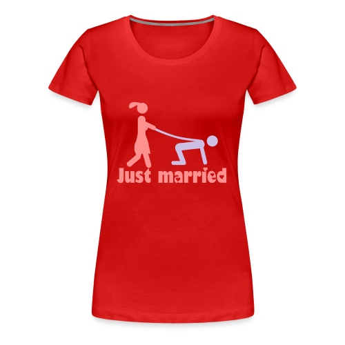 Just Married - multicolor - Frauen Premium T-Shirt