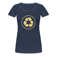 T-shirts ~ Vrouwen Premium T-shirt ~ Recycle circle