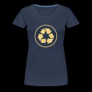 T-shirts ~ Vrouwen Premium T-shirt ~ Recycle circle