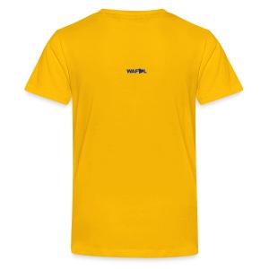 BILLY STATUE - TEN STONE OF BARBED WIRE - Teenage Premium T-Shirt