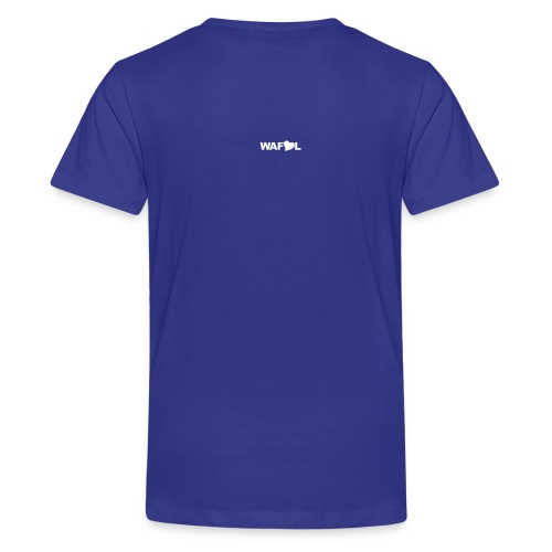 AT LEAST UNTIL THE WORLD STOPS GOING ROUND - Teenage Premium T-Shirt