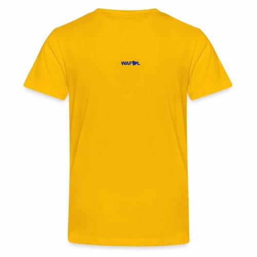 L U F C AZTEC - CRYPTIC L U F C DESIGN  - Teenage Premium T-Shirt