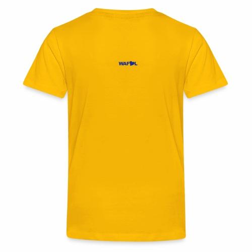 SGT. - LAST TRUE CHAMPIONSHIP - LEEDS SALUTE PLACEMENT - Teenage Premium T-Shirt