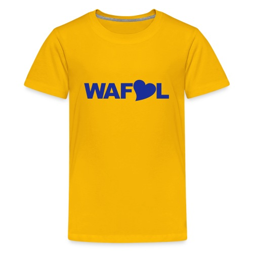 WAFLL - ACRONYM FROM AN OLD LEEDS CHANT - Teenage Premium T-Shirt