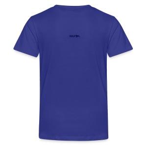 SCARF SQUARE - AWAY - Teenage Premium T-Shirt