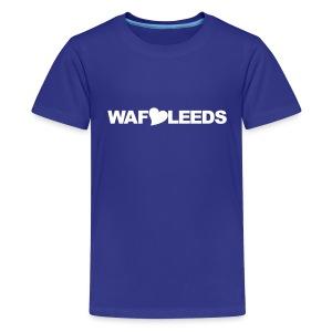 WAFLLEEDS - OLD LEEDS CHANT ACRONYM - Teenage Premium T-Shirt