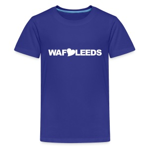 WAFLLEEDS - OLD LEEDS CHANT ACRONYM - Teenage Premium T-Shirt