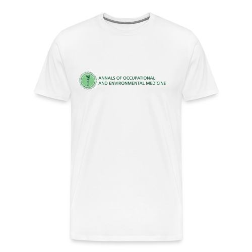 Annals of Occupational and Environmental Medicine Men's t-shirt - Men's Premium T-Shirt