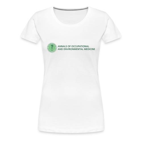 Annals of Occupational and Environmental Medicine Women's t-shirt - Women's Premium T-Shirt
