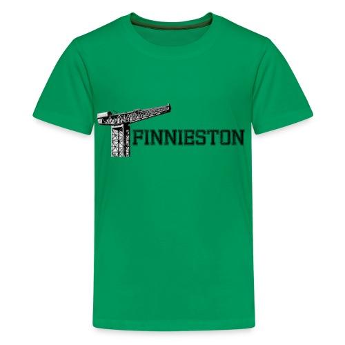 Finnieston Crane - Teenage Premium T-Shirt