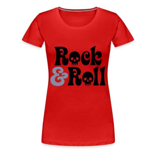 Rock & Roll - Frauen Premium T-Shirt