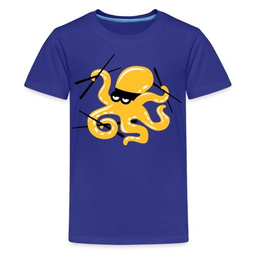 Octopuss Turquoise - T-shirt Premium Ado
