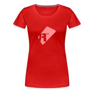 Girlie T-Shirt - Pink Renoise Tag - Women's Premium T-Shirt