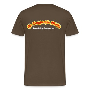 Lowriding supporet T-shirt - Men's Premium T-Shirt