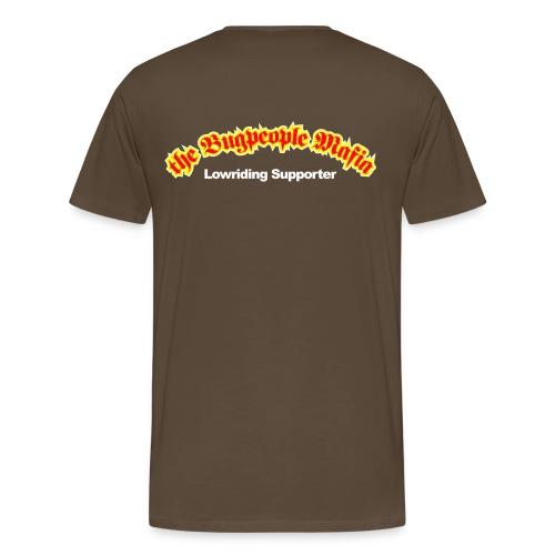Lowriding supporet T-shirt - Men's Premium T-Shirt