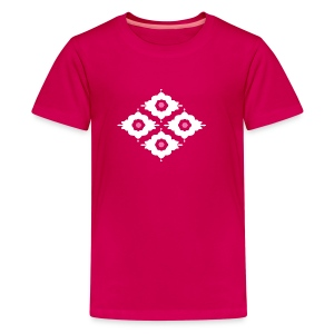 Retro pattern t-shirt for children - Teenage Premium T-Shirt