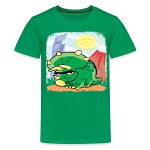 Ngumbosaurus - Kindershirt - Teenager Premium T-Shirt