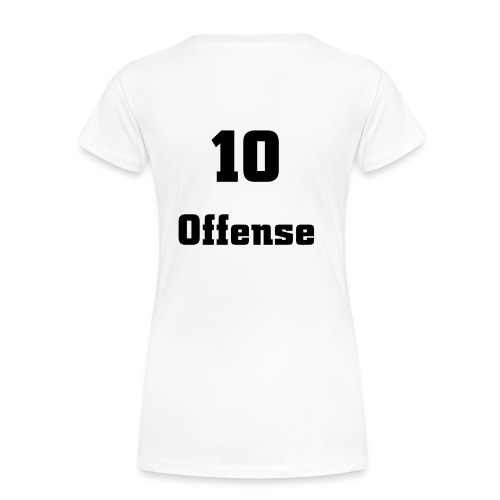 10 Offense Girli Shirt - Frauen Premium T-Shirt