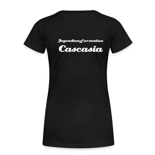 Cascasia Shirt mit Name - Frauen Premium T-Shirt