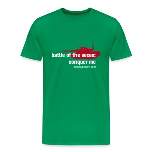 battle of the sexes green - Men's Premium T-Shirt