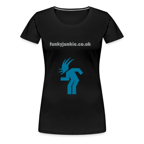 Funky Slim Fit Woman - Women's Premium T-Shirt