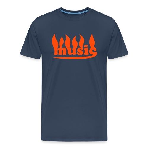 MusicK 3XL Shirt dna/neoor - Männer Premium T-Shirt