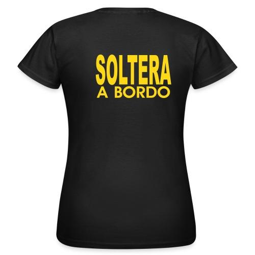 Camiseta Chica doble estampación - Camiseta mujer