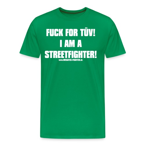 FUCK FOR TÜV - Männer Premium T-Shirt